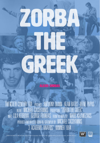 Filmplakat/Bild zu ZORBA THE GREEK, Regie: Michael Cacoyannis