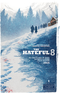 Filmplakat/Bild zu THE HATEFUL EIGHT, Regie: Quentin Tarantino, 70mm-Ultrapanavision
