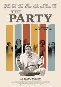 Filmplakat/Bild zu THE PARTY, Regie: Sally Potter