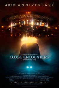 Filmplakat/Bild zu CLOSE ENCOUNTERS OF THE THIRD KIND, Regie: Steven Spielberg