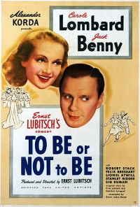 Filmplakat/Bild zu TO BE OR NOT TO BE, Regie: Ernst Lubitsch