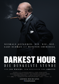 Filmplakat/Bild zu DARKEST HOUR, Regie: Joe Wright