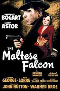 Filmplakat/Bild zu THE MALTESE FALCON, Regie: John Huston