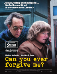 Filmplakat/Bild zu CAN YOU EVER FORGIVE ME?, Regie: Marielle Heller