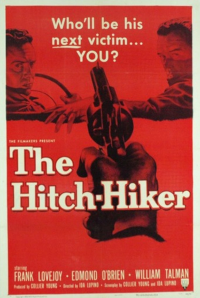 Filmplakat/Bild zu THE HITCH-HIKER, Regie: Ida Lupino