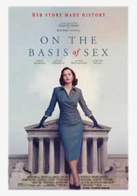 Filmplakat/Bild zu ON THE BASIS OF SEX, Regie: Mimi Leder