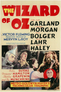 Filmplakat/Bild zu THE WIZARD OF OZ, Regie: Victor Fleming