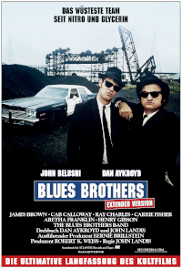Filmplakat/Bild zu THE BLUES BROTHERS EXTENDED VERSION, Regie: John Landis